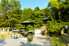 Gravel Path Stone Bridge Chion-In Temple Kyoto Stock Photo