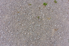 Gravel path surface Royalty Free Stock Photography