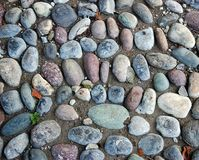 Gravel pavement texture background pattern Royalty Free Stock Photo