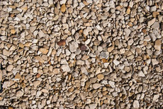 Gravel and pebble close up Stock Image
