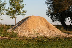 Gravel Pile Royalty Free Stock Image