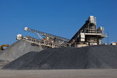 Gravel pit Stock Photography