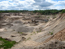 Gravel-pit Stock Photography