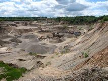 Gravel-pit Stock Photography