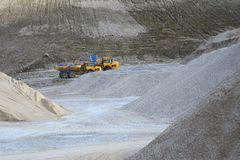Gravel Pit machines Stock Photography