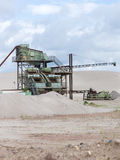 Gravel pit Stock Photos