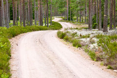 Gravel road Royalty Free Stock Photos