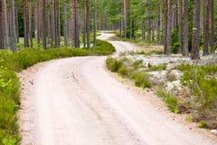 Gravel road royalty free stock photos