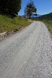 Gravel road Royalty Free Stock Image