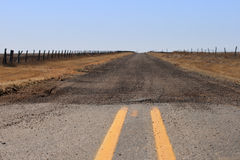 Gravel road Royalty Free Stock Images