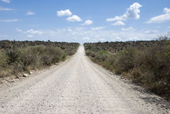 Gravel road Stock Images
