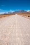 Gravel road in Atacama desert, Chile Stock Image