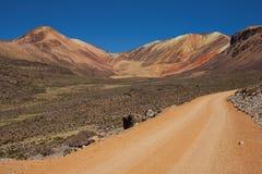 Gravel Road in the Atacama Stock Photos