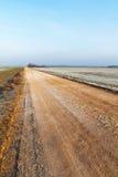 Gravel road. Stock Photos