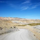 Gravel road in Cottonwood Canyon, Utah. Stock Photos