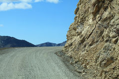 Gravel road at Denali National Park Stock Photos