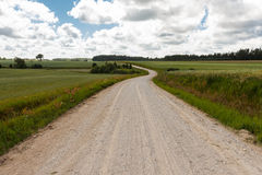A gravel road Stock Photography