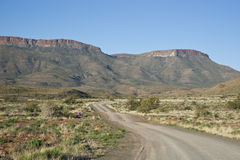 Gravel Road in Karoo National Park Royalty Free Stock Photography