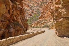 Gravel road of the Karoo stock photos