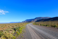 Gravel road in the Karoo Royalty Free Stock Images