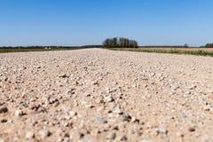 Gravel road. Stock Photo
