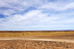 Gravel road in Middle Atlas Mountains. Morocco, Africa Stock Images