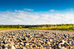 Gravel Road Stock Image