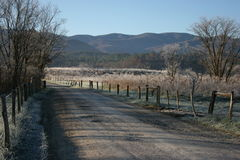 Gravel road Stock Image