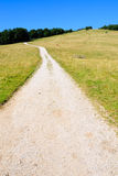 Gravel road on range no.1 Stock Photography
