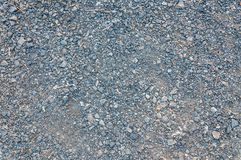 Gravel road texture stock images