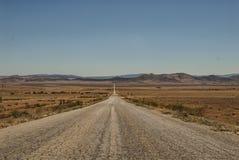 Gravel Road to Infinity Stock Image