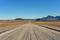 Gravel Roads - Namibia Stock Photos