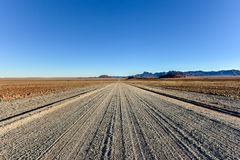 Gravel Roads - Namibia Royalty Free Stock Image