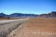 Gravel Roads - Namibia Stock Image