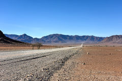Gravel Roads - Namibia Royalty Free Stock Photo