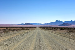 Gravel Roads - Namibia Royalty Free Stock Images