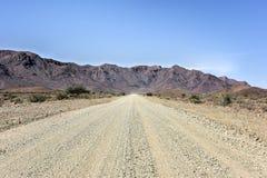 Gravel Roads - Namibia Stock Photography