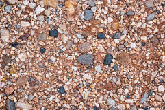 Gravel and rock background Stock Photo