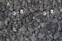 Gravel rock texture background. Gravel rock texture for background Royalty Free Stock Photo