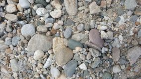 Gravel / sand texture. Abstract texture. / wallpaper Stock Photos