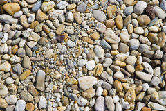 Gravel stone background Royalty Free Stock Photo