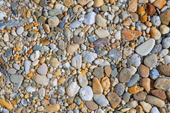 Gravel stone background Royalty Free Stock Images