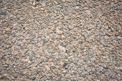Gravel Stone, Cement Pavement or Pebble Road Street Royalty Free Stock Images