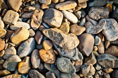 Gravel stone texture background Royalty Free Stock Photography