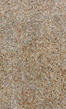 The gravel stone wall. The pattern gravel stone wall for background Stock Photos