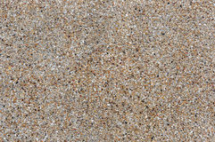 Gravel stone wall. The pattern gravel stone wall on background Royalty Free Stock Photo