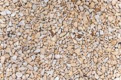 Gravel stones background Stock Images
