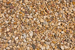 Gravel, stones close up Royalty Free Stock Photos