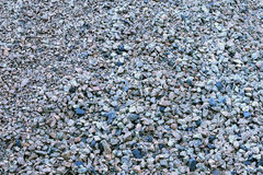 Gravel stones close up Stock Images
