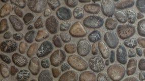 Gravel stones concrete texture background Royalty Free Stock Photos